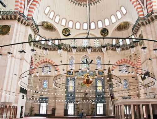 мечеть сулеймание в стамбуле: подробная и точная информация